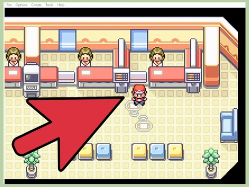pokemon emulator trading with yourself